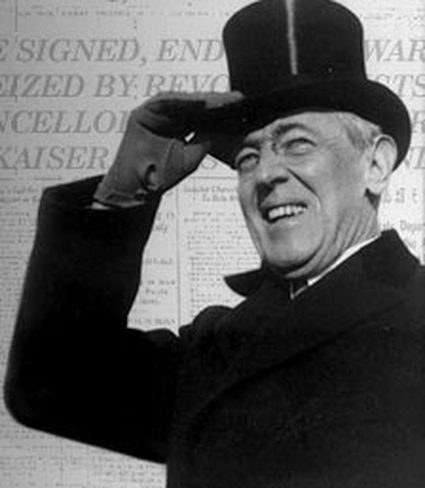 With 'civilization itself seeming to be in the balance,' Woodrow Wilson took America into a world war